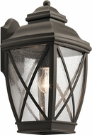 Kichler 49842OZ Tangier Traditional Olde Bronze Exterior 9.5  Lighting Sconce