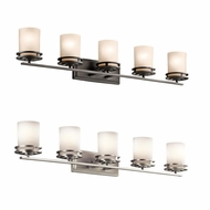 Kichler 5085 Hendrik 7.75  Tall 5 Light Bathroom Lighting Fixture