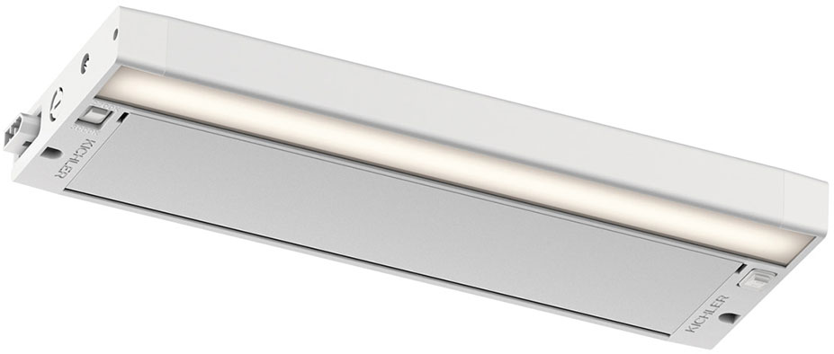 Kichler 6UCSK12WHT 6U Series Contemporary Textured White LED 12u0026nbsp; Undercabinet  Lighting. Loading Zoom