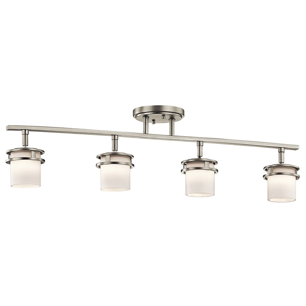 Kichler 7772ni Hendrik Brushed Nickel Halogen Island Light Fixture Kic 7772ni