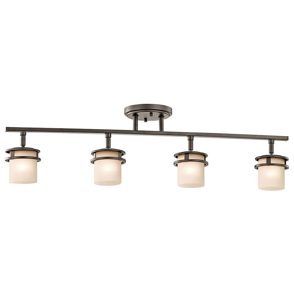 Kichler 7772oz hendrik olde bronze halogen kitchen island for Island kitchen lighting fixtures