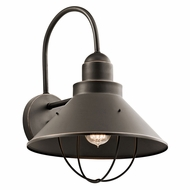 Kichler 9142OZ Seaside Olde Bronze Exterior Wall Lighting