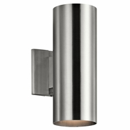 Kichler 9244BA Modern Brushed Aluminum Exterior Light Sconce