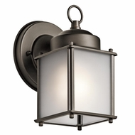 Kichler 9611OZS Olde Bronze Outdoor Wall Sconce Lighting
