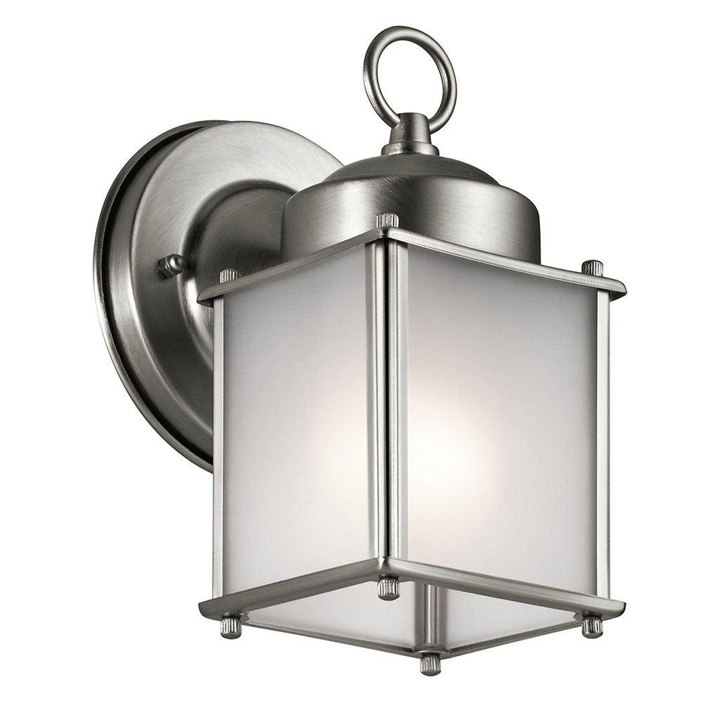 Kichler 9611sss Stainless Steel Exterior Wall Light Fixture Kic 9611sss
