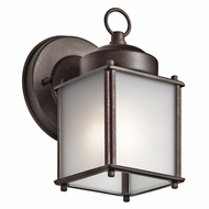 Kichler 9611TZS Tannery Bronze Outdoor Lighting Wall Sconce