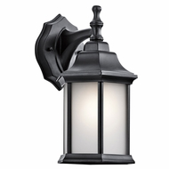 Kichler 9776BKS Chesapeake Black Outdoor Wall Sconce Lighting
