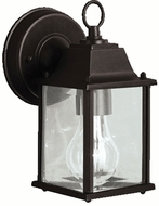 Kichler 9794BKL16 Barrie Traditional Black LED Exterior Wall Sconce Lighting