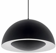 Kuzco 401142BK-LED Contemporary Black LED 16  Drop Ceiling Lighting