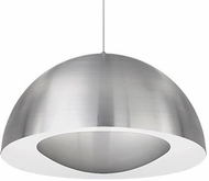 Kuzco 401143BN-LED Contemporary Brushed Nickel LED 26  Drop Lighting Fixture