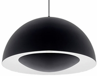 Kuzco 401144BK-LED Contemporary Black LED 35.5  Pendant Light