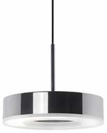 Kuzco 401151CH-LED Modern Chrome LED Drum Hanging Lamp