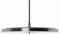 Kuzco 401172BN-LED Modern Brushed Nickel LED 20  Hanging Pendant Lighting
