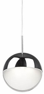 Kuzco 402801CH-LED Pluto Modern Chrome LED Mini Drop Lighting