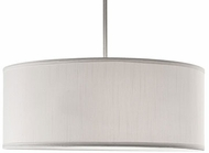 Kuzco 41083W Brushed Nickel 20  Drum Lighting Pendant
