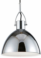 Kuzco 41581M Contemporary Chrome Mini Pendant Lighting Fixture