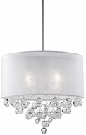 Kuzco 42154W Chrome Drum Pendant Hanging Light