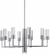 Kuzco 4400010CH-LED Chrome LED Chandelier Lighting