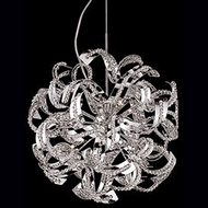 Kuzco 441309 Chrome Halogen 18  Ceiling Pendant Light