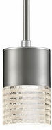 Kuzco 443001BN-LED Brushed Nickel LED Mini Pendant Lamp