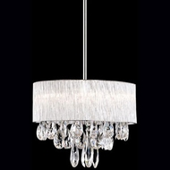 Kuzco 444006 Chrome Halogen 16  Drum Pendant Lighting
