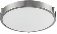 Kuzco 501112-LED Floyd Contemporary Brushed Nickel LED 13  Flush Mount Lighting