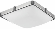 Kuzco 501113-LED Templeton Contemporary Brushed Nickel LED 12  Flush Mount Light Fixture