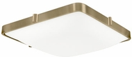 Kuzco 501123-VB Templeton Modern Vintage Brass LED 16  Overhead Light Fixture