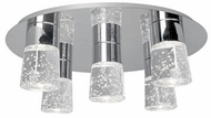 Kuzco 502105CH-LED Chrome LED Overhead Lighting Fixture