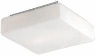 Kuzco 505102 Modern White Metal 12.5  Flush Lighting