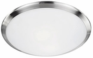 Kuzco 51561BN Contemporary Brushed Nickel 12  Home Ceiling Lighting