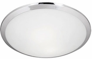 Kuzco 51561CH Modern Chrome 12  Overhead Light Fixture