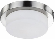 Kuzco 52012BN Modern Brushed Nickel 13  Ceiling Light Fixture