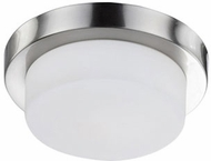 Kuzco 52012SBN Contemporary Brushed Nickel 11  Overhead Lighting