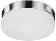 Kuzco 52022SBN Modern Brushed Nickel 9  Ceiling Light