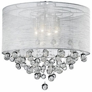 Kuzco 52154 Chrome Ceiling Light