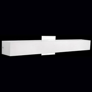 Kuzco 601021CH-LED Contemporary Chrome LED 24  Bathroom Light
