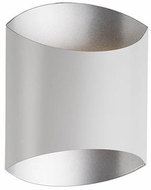 Kuzco 601471WH-LED Contemporary White LED Wall Sconce