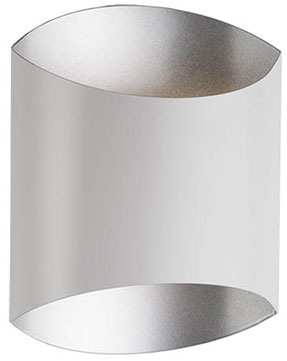 Kuzco 601471WH-LED Contemporary White LED Wall Sconce - KUZ-601471WH-LED