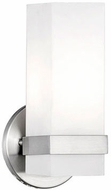 Kuzco 698111BN Contemporary Brushed Nickel Wall Sconce Lighting