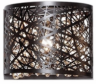 Kuzco 70101BZ Contemporary Bronze Halogen Wall Sconce Lighting