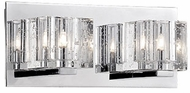 Kuzco 701042 Chrome Halogen 2-Light Bath Lighting Fixture