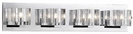 Kuzco 701044 Chrome Halogen 4-Light Bathroom Vanity Lighting