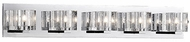 Kuzco 701045 Chrome Halogen 5-Light Bathroom Vanity Light