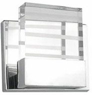 Kuzco 701081CH-LED Chrome LED Wall Light Sconce