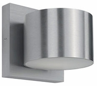 Kuzco 701141BN-LED Contemporary Brushed Nickel LED Wall Lighting Fixture