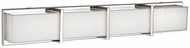 Kuzco 701314CH-LED Contemporary Chrome LED 4-Light Bath Lighting Sconce