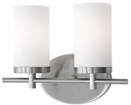 Kuzco 70272BN Modern Brushed Nickel 2-Light Vanity Lighting