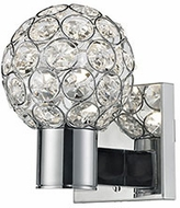 Kuzco 770001CH-LED Chrome LED Sconce Lighting