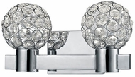 Kuzco 770002CH-LED Chrome LED 2-Light Bathroom Vanity Light